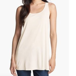 Eileen Fisher Scoop Neck Tunic Petite Large